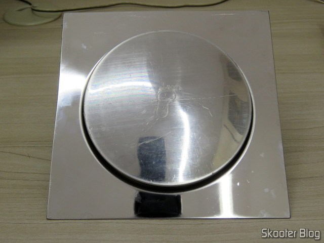 Drain Smart Click Bathroom 15x15 cm Stainless c / Veda Cheiro.Ralo Smart Click Bathroom 15x15 cm Stainless c / Veda Smell