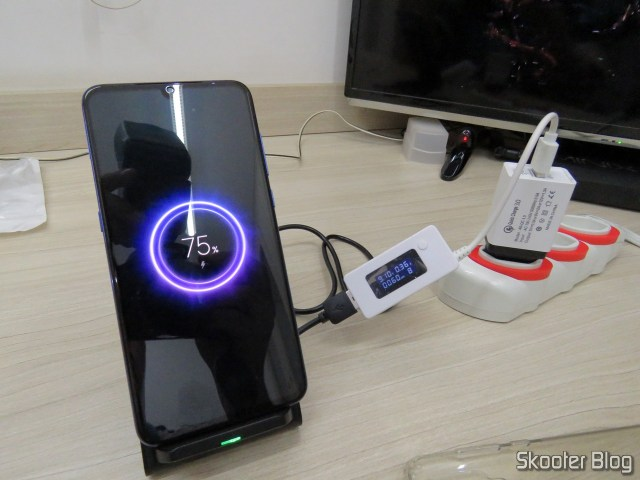 Test Wireless Charger Fast Mobile with 10W.
