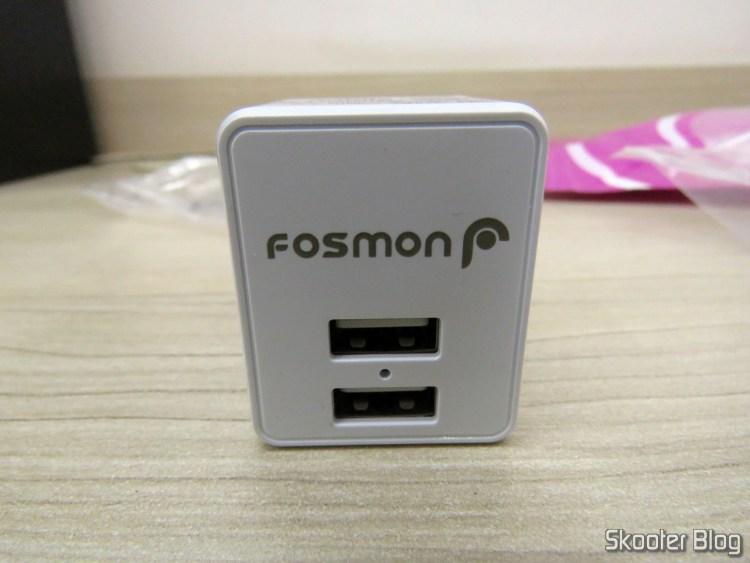 Fosmon 2 Port USB Charger C-10735US.