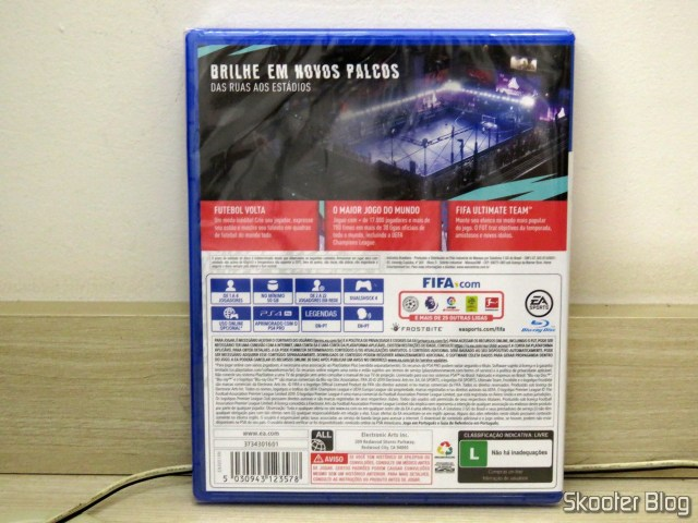 Fifa 20, do Playstation 4 (PS4), in its sealed package.