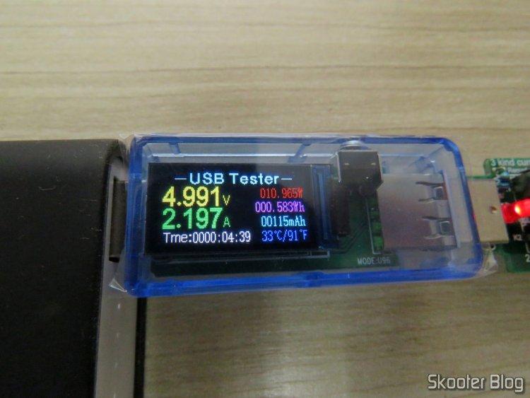 U96 USB testator 13 in 1, operating in powerbank Zenpower.