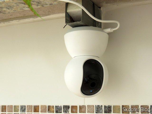 Xiaomi Mi Home Security Camera 360º, em funcionamento.