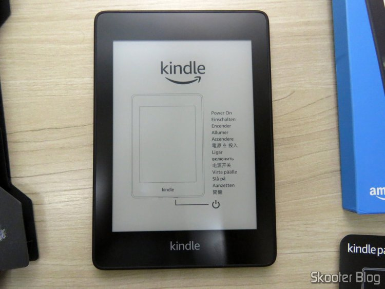 """Kindle Paperwhite Amazon Tela 6"""" 8GB WiFi."""