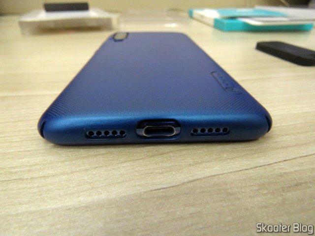 Layer Xiaomi Mi 9 Nillkin Frosted Shield, instalada no meu Xiaomi Mi 9.