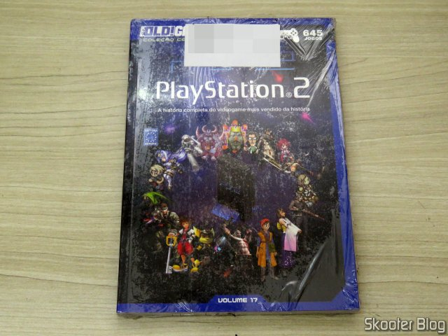 Dossier OLD!Gamer: Playstation 2 – Volume 17, on its packaging.