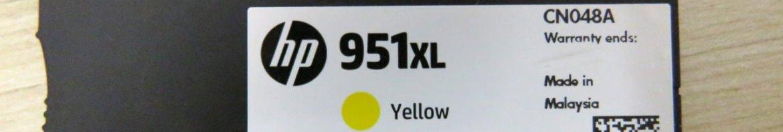 A Picaretagem: Cartucho Amarelo com Data de Validade Apagada.