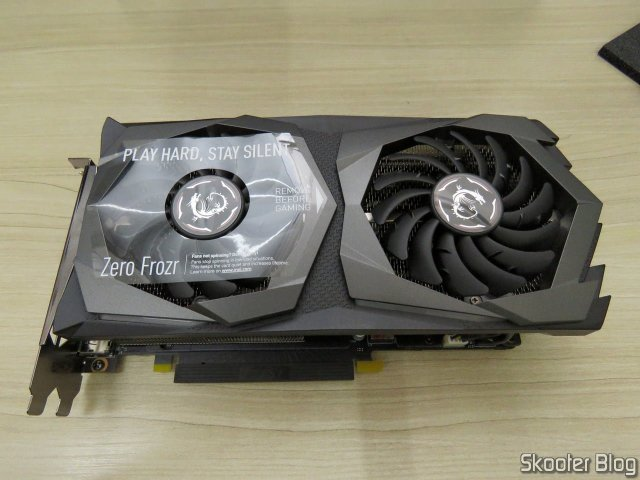 Placa de Vídeo MSI Gaming GeForce RTX 2060 Super 8GB.