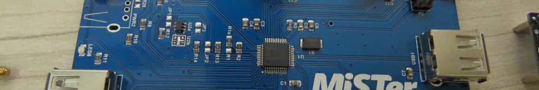O Hub USB do MiSTer.