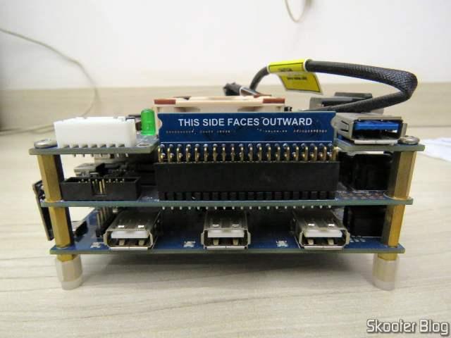 128MB SDRAM module for MiSTer FPGA, installed on my MiSTer FPGA.