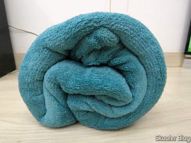 Single Fleece Blanket - Blue.