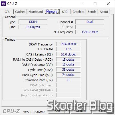 CPU-Z Memory
