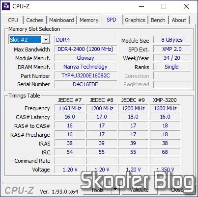 CPU-Z SPD - Módulo 1