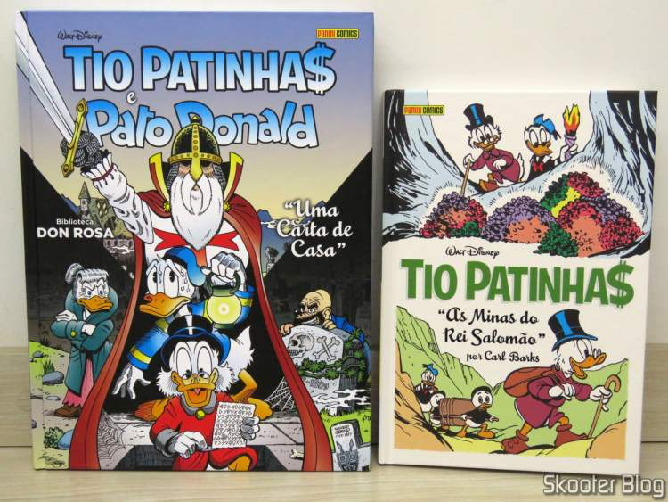 Don Rosa Library Vol. 10 - Scrooge McDuck and Donald Duck: A Letter from Home and Collection Carl Barks Vol. 20 - Uncle Scrooge: King Solomon's Mines.