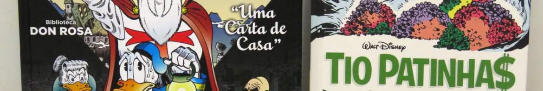 Biblioteca Don Rosa Vol. 10 - Tio Patinhas e Pato Donald: Uma Carta De Casa e Coleção Carl Barks Vol. 20 - Tio Patinhas: As Minas Do Rei Salomão.
