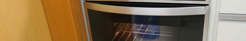 Forno de Embutir a Gás Brastemp 78 Litros Cor Inox com Convecção e Termômetro Meat Control - BOH84AR 220V (BOH84ARRNA), em funcionamento.