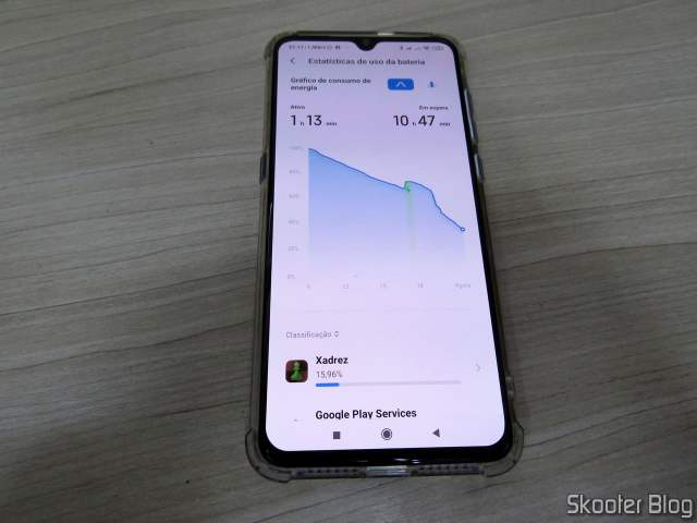 Xiaomi Mi Performance 9 with the new battery.