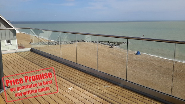 External Glass Balustrades in Surrey