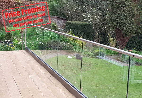 Glass Balustrades in Surrey
