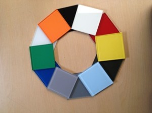 Glass Available in any finish any colour