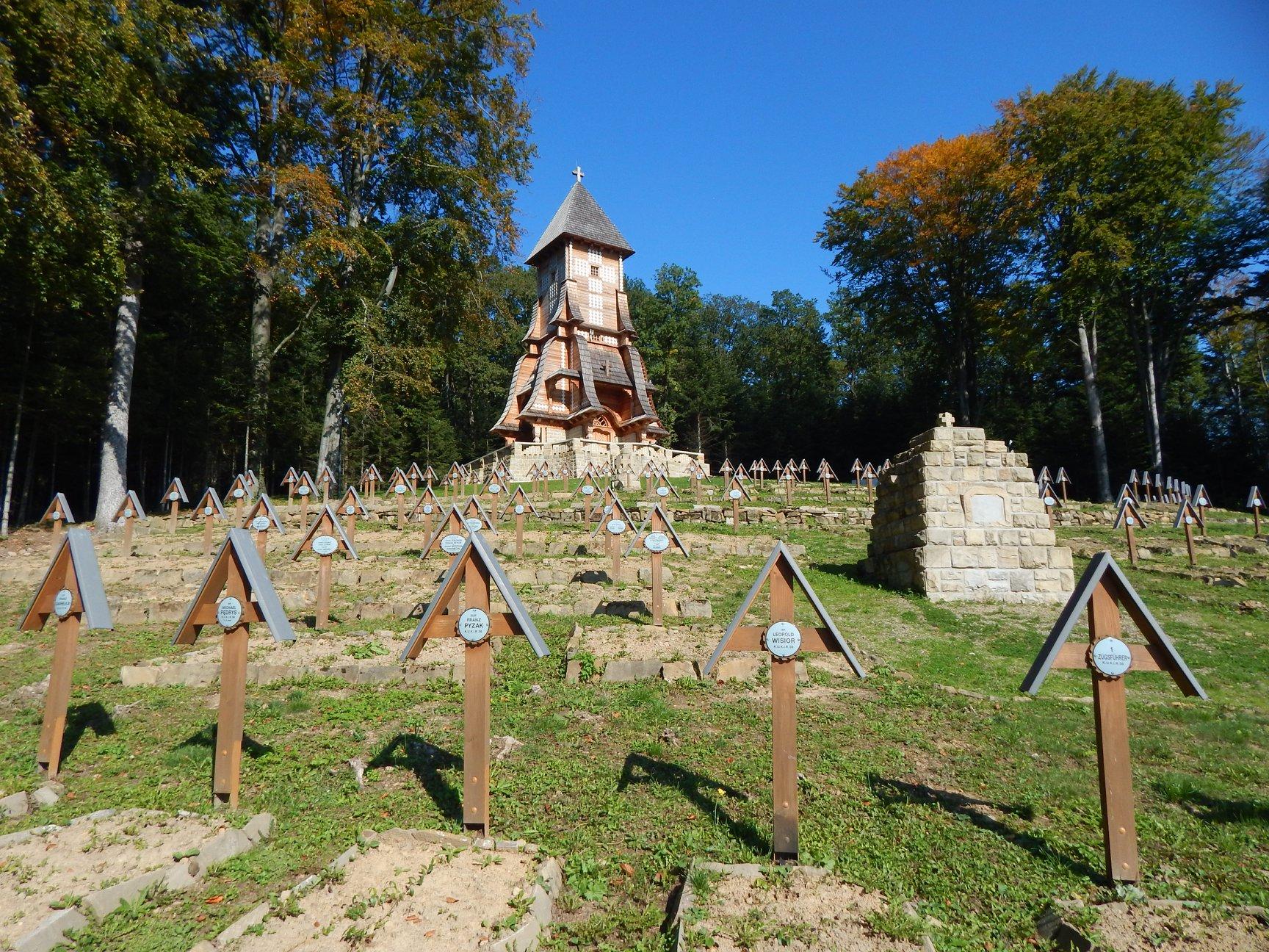 Cmentarz z I wojny światowej Łużna-Pustki