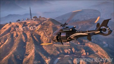 GTA V Helicopter Vinewood
