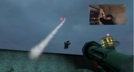 تعديل للعبة Half-Life 2 يجعلك تستخدم نظارة Oculus Rift