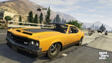 gta 5 muscle car 4