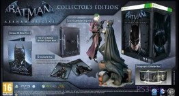 "ظهور نسخة الـ""Collector's Edition"" من لعبة "" Batman: Arkham Origins"""