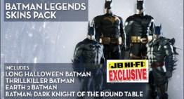 حزمة ملابس اضافية لباتمان في Batman: Arkham Origins