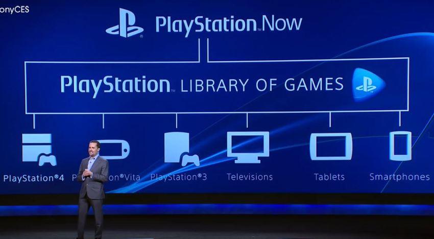 تقديم العاب الـPlaystation 4 لخدمة PS Now للبث المباشر للالعاب