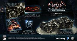 الغاء نسخة الـBatmobile من لعبة  Batman: Arkham Knight