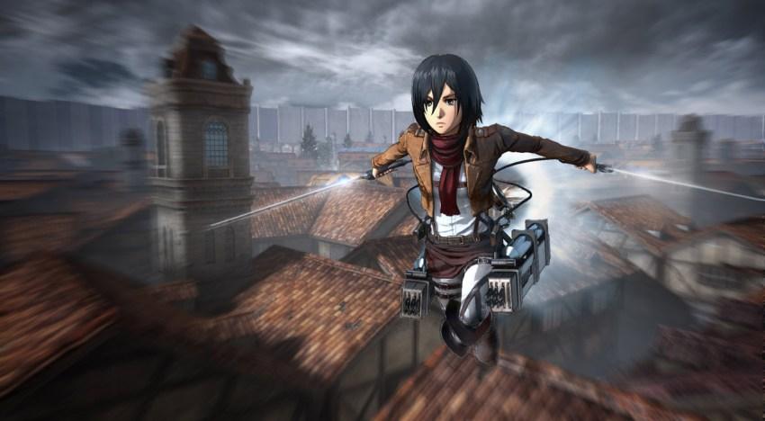 تحديد معاد نزول لعبة Attack On Titan  في اوروبا و الاعلان عن نسخ للـXbox One و PC