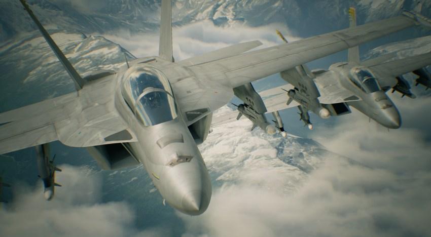 استعراض لجيمبلاي و بيئات لعبة Ace Combat 7