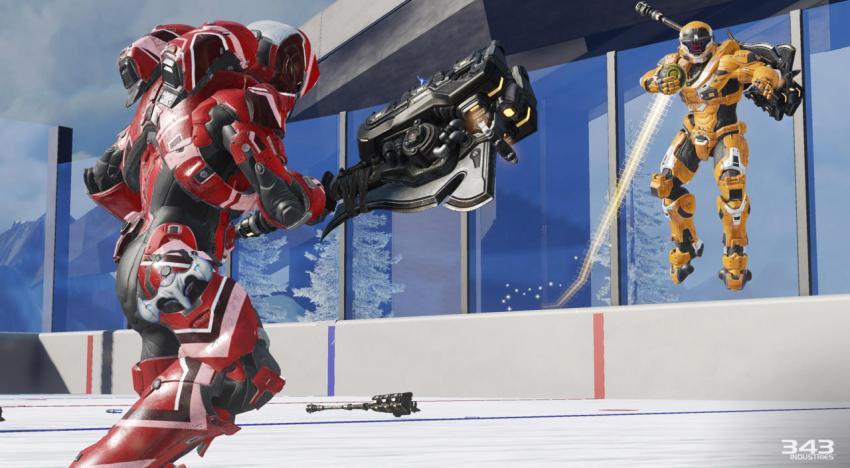 أول صور من Grifball mode في Halo 5 وتفاصيل أكتر عن اضافة فبراير