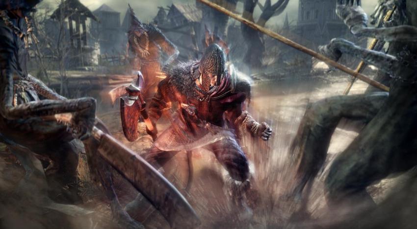 مجموعة صور جديدة بتستعرض جيمبلاي لعبة Dark Souls 3 بالاضافة لمجموعة اعمال فنية من اللعبة