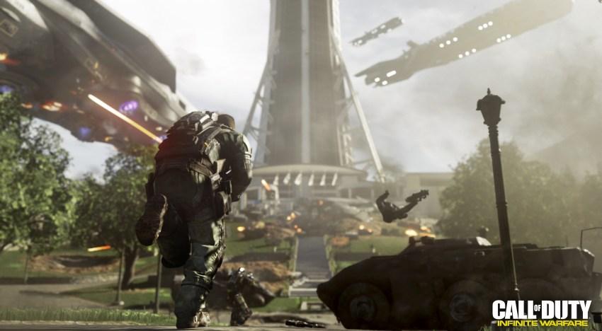 فيديو لاول مهمات قصة لعبة Call of Duty: Infinite Warfare علي الارض