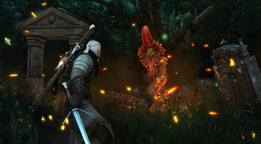 تحديث لـ The Witcher 3 لدعم دقة الـ 4K و خاصية ال HDR علي الـ Xbox One  X