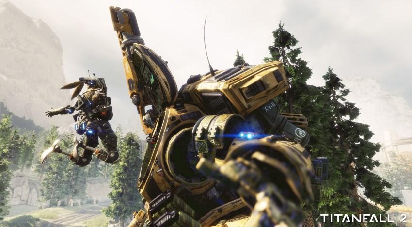 عرض اطلاق لعبة Titanfall2