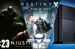 الحلقة 23 من EGN – تأكيد الـPS4 NEO و Destiny Rise of Iron و الاعلان عن Injustice 2