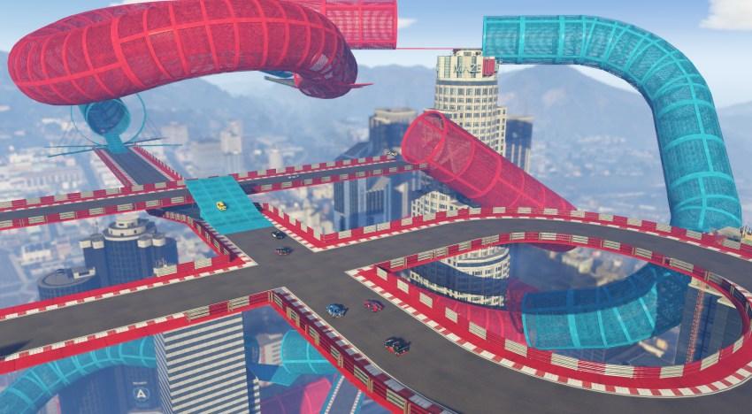 الاعلان عن اضافة Cunning Stunts المجانية للعب GTA V