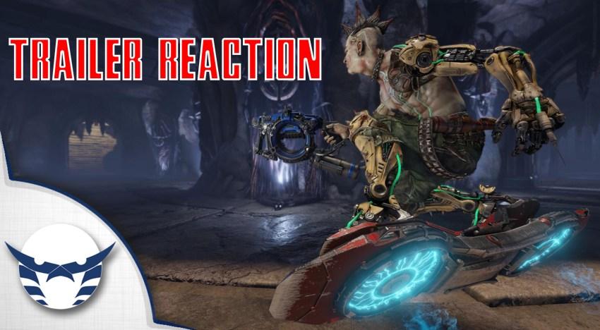 انطباع و Trailer Reaction عن اول فيديو جيمبلاي من Quake Champions