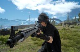 صور جديدة من Final Fantasy 15 بتستعرض القناصة والمنشار الكهربائي