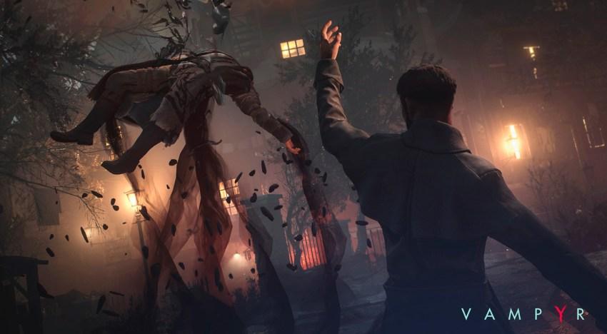 استعراض للقتال من خلال عرض دعائي جديد في لعبة Vampyr