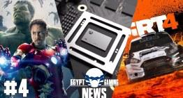 الحلقة 4 من EGN – مواصفات الـXbox Scorpio و The Avengers Project و الاعلان عن Dirt 4