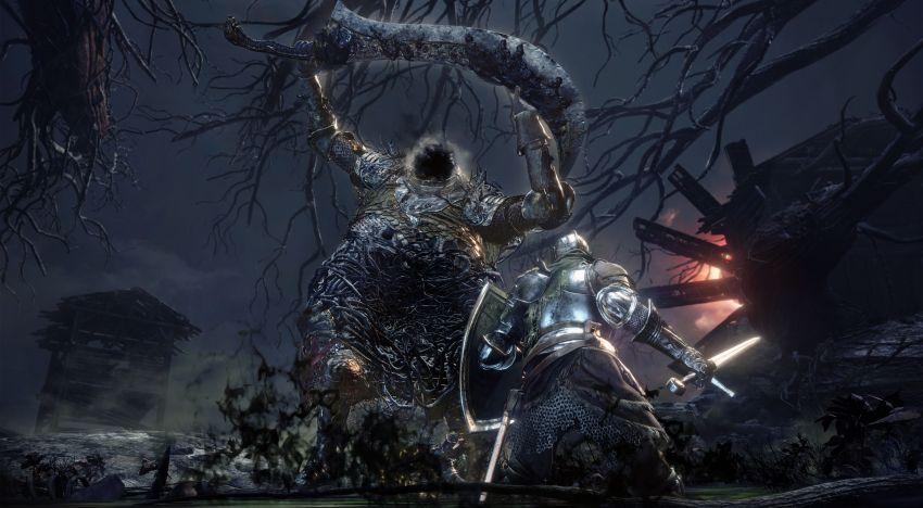اول جيمبلاي من اضافة The Ringed City للعبة Dark Souls 3