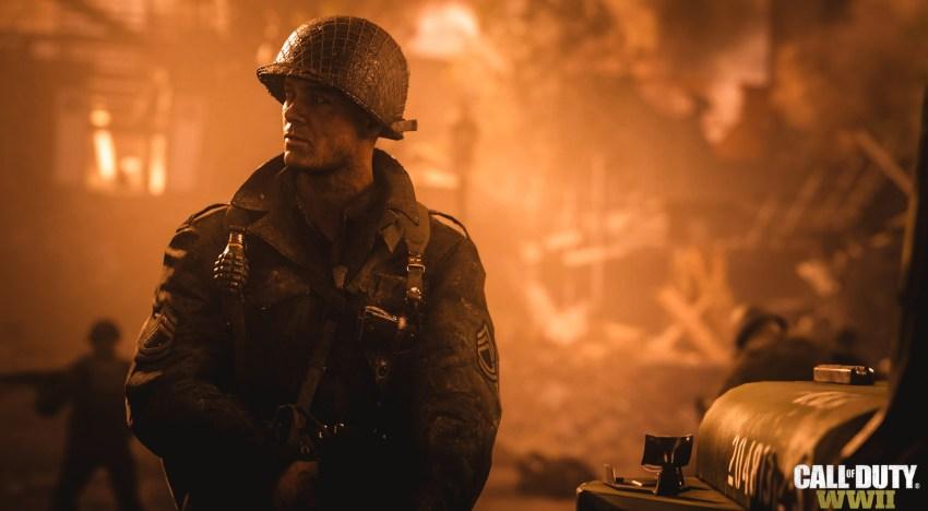 لعبة Call of Duty: World War 2 ستقلل الاعتماد علي المشاهد السينمائية