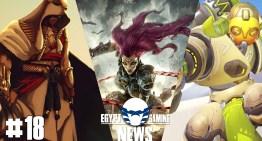 الحلقة 18 من EGN – الاعلان عن Darksiders 3 و تسريبات Assassin's Creed 2017 و محتويات Overwatch