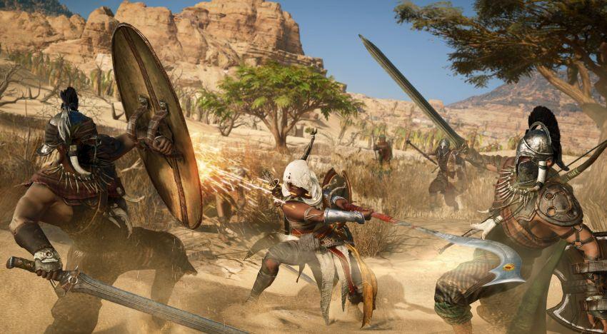 فيديو جديد عن تفاصيل اسلوب القتال و الـArena في لعبة Assassin's creed Origins