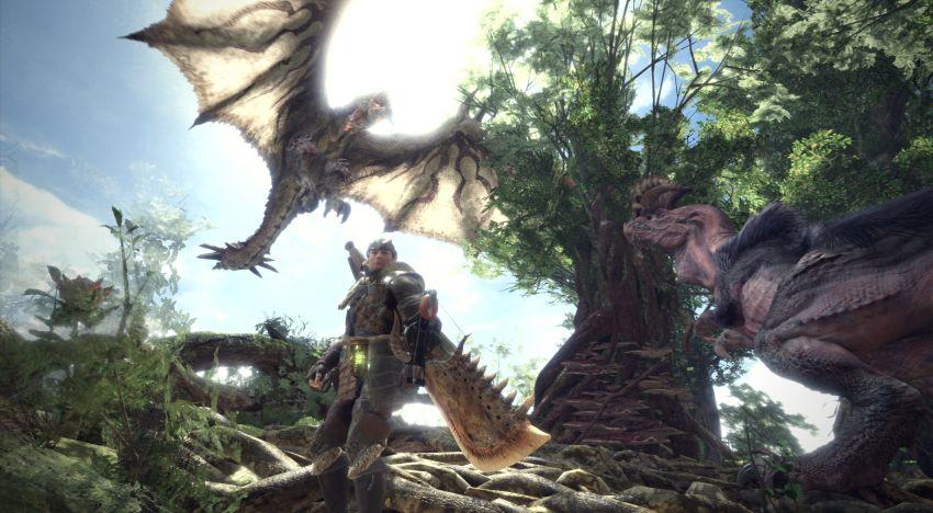 مساحة لعبة Monster Hunter World تظهر علي متاجر مختلفة بحجم صغير جدا