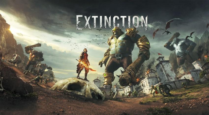 اصدار عرض جديد لقصة لعبة Extinction